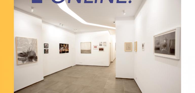 lancio sito web ecommerce arte contemporanea design